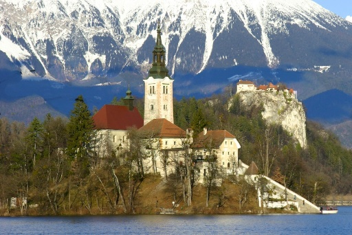 Castle and Island, Lake Bled